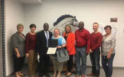 West Orange Cove CISD School District Employee of the Month