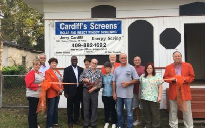 Ribbon Cutting- Cardiff Screens