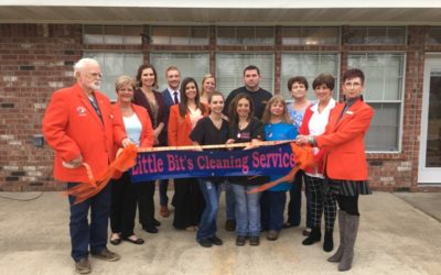 A Little Bits Cleaning Ribbon Cutting