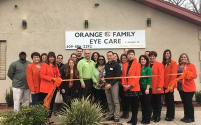 Ribbon Cutting-Orange Family Eye Care