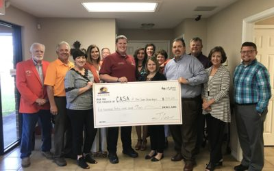 Greater Orange Area Chamber of Commerce donates to CASA