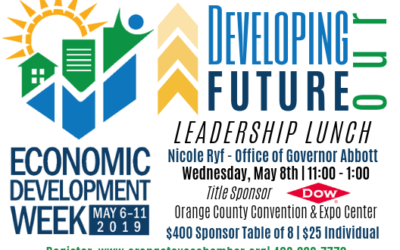 REGISTRATION IS CLOSED-Developing Our Future Leadership Lunch