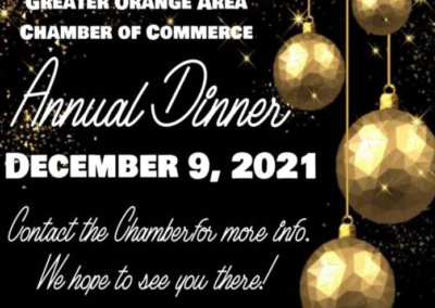 2021 Annual Dinner Save the Date